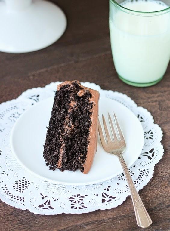 Quinoa Chocolate Cake With Coconut Milk Icing