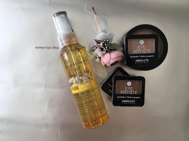 Yves Rocher makyaj temizleme yağı