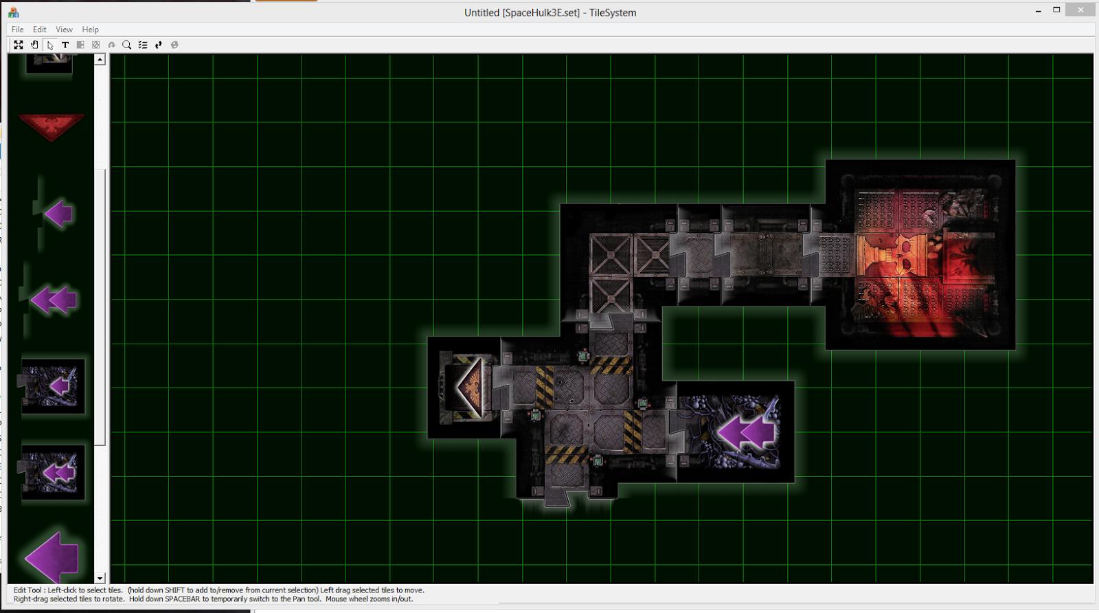 Grumpy Wargamer: Iteractive SpaceHulk Maps