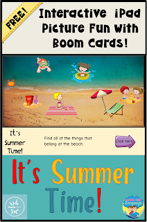 Try some free interactive learning fun from Looks Like Language with BOOM Cards!