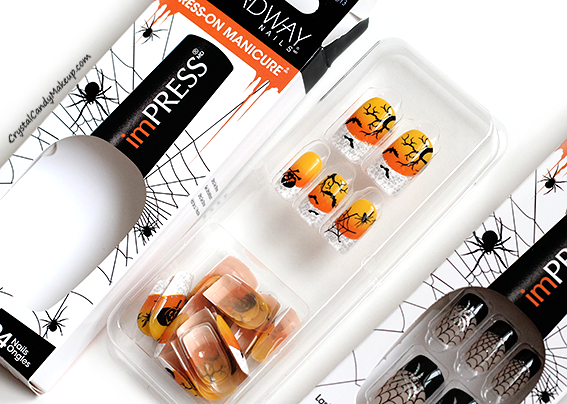 Broadway Nails imPRESS Press-On Manicure (Halloween 2014 ...
