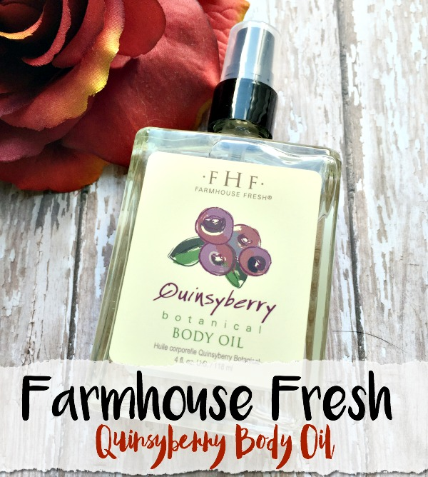 Farmhouse Fresh Quinsyberry Body Oil from Crazy Beautiful Makeup