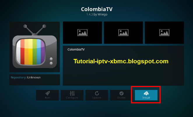 Colombia TV Addon Kodi Repo url 18 Leia 2019 - New Kodi