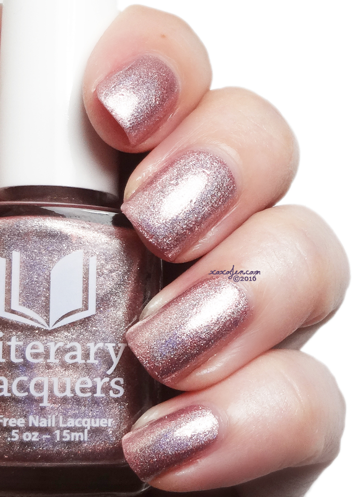 xoxoJen's swatch of Literary Lacquers Mayhaps You Is