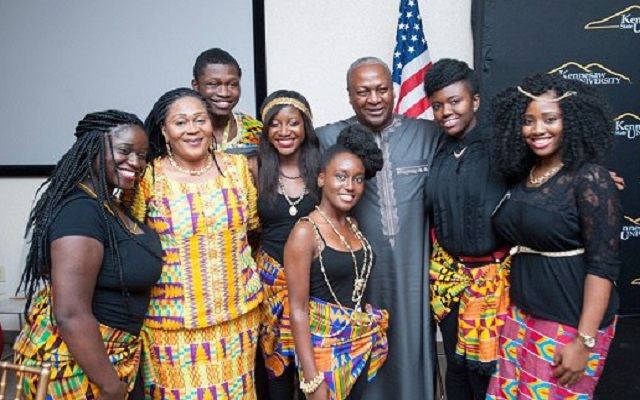 Mahama has 18 Children, only 7 of them are Lordina's