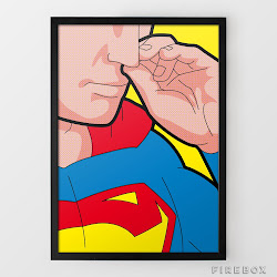 2438a79a9 If Superheroes Used Instagram · Secret Life of Superheroes Poster Series