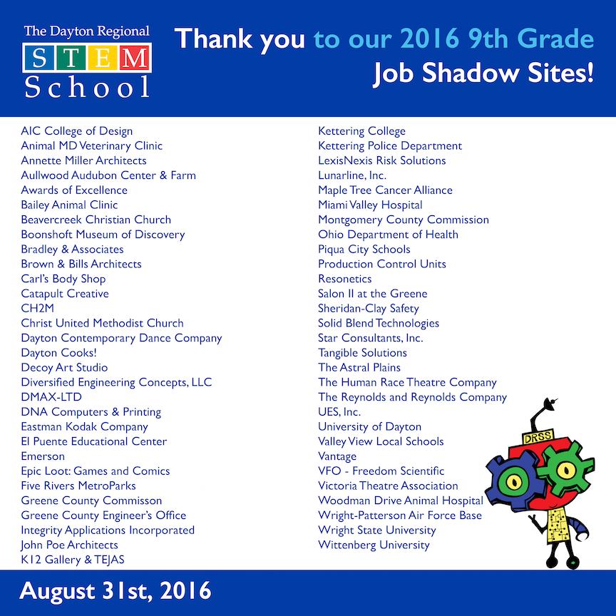 Dayton Stem School: Dayton Regional STEM School News And Events: Students