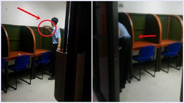 Ia Ketinggalan Barang, Saat Balik Ke Kantor Tak Disangka Ia Menyaksikan Si Bos Lagi Beginian !!