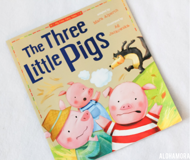 The Three Little Pigs adapted by Mara Alperin is a fun read aloud with colorful illustrations.  4 out of 5 stars in this book review for this classic fairy tale adaptation.  Alohamora Open a Book www.alohamoraopenabook.blogspot.com