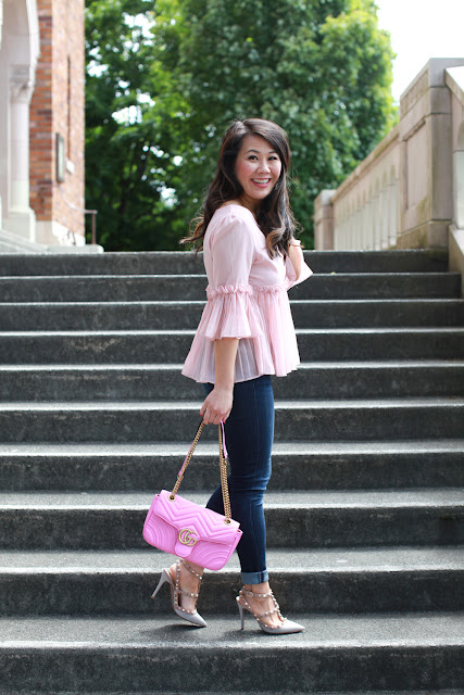 Bell Sleeves and Rockstuds