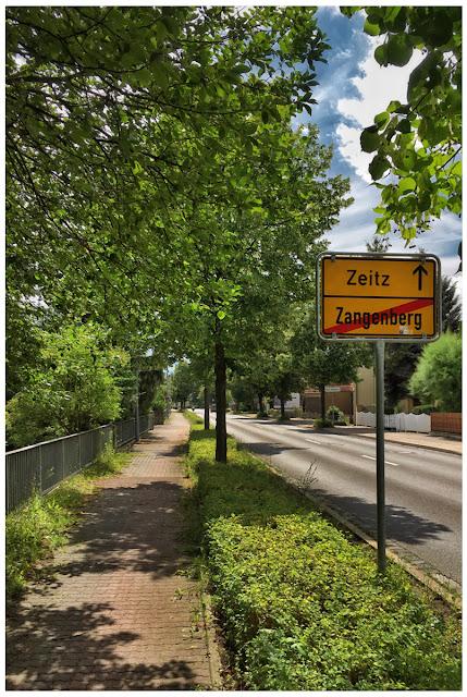 Leipziger Straße Zeitz - Zangenberg