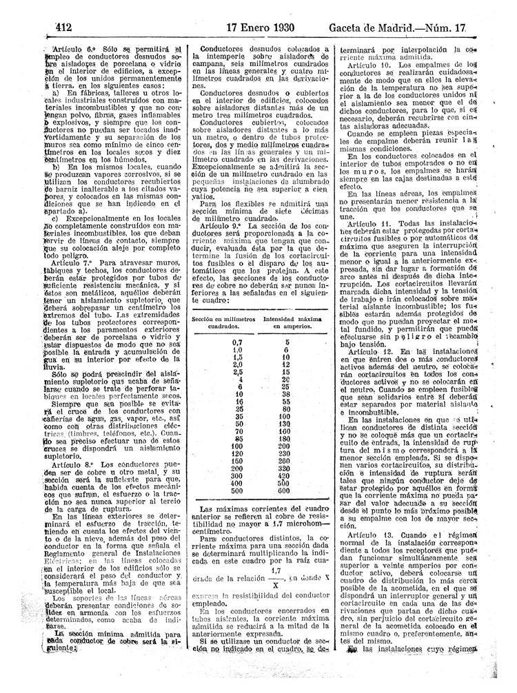 reglamento instalaciones electricas receptoras 1930 - 02
