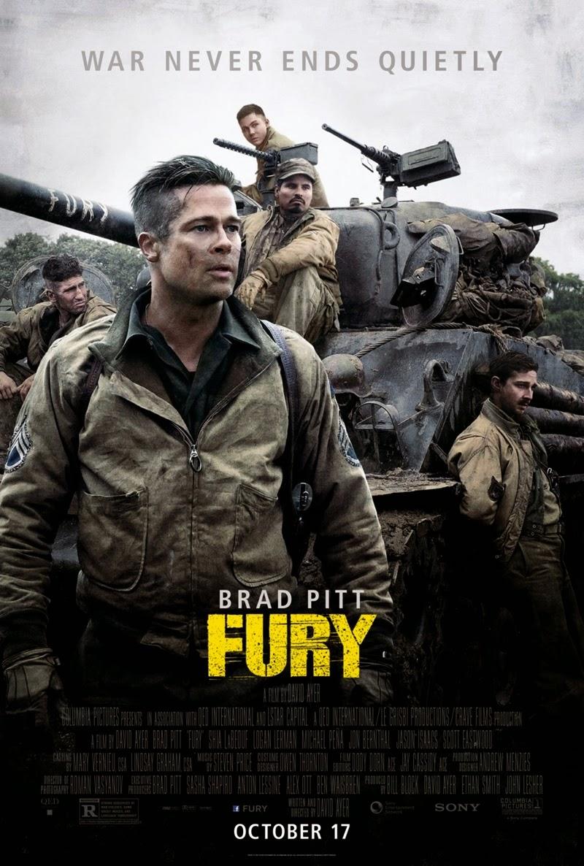 Fury (2014) ฟิวรี่ วันปฐพีเดือด [HD][พากย์ไทย]