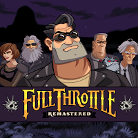 Full Throttle Remastered Game Logo