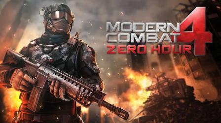 Modern Combat 4 Zero Hour Gameloft Mod Apk