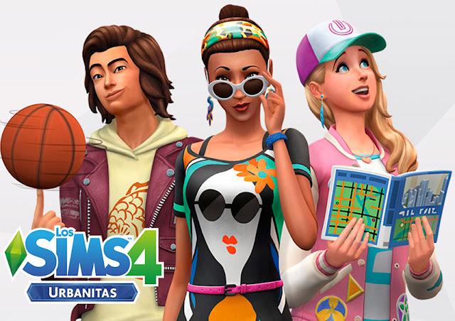 Portada del videojuego los sims 4 urbanitas