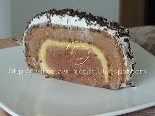 Rolat sa mlevenim keksom