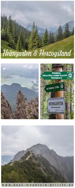 Wanderung Bayern - Heimgarten Herzogstand - Walchensee Oberbayern