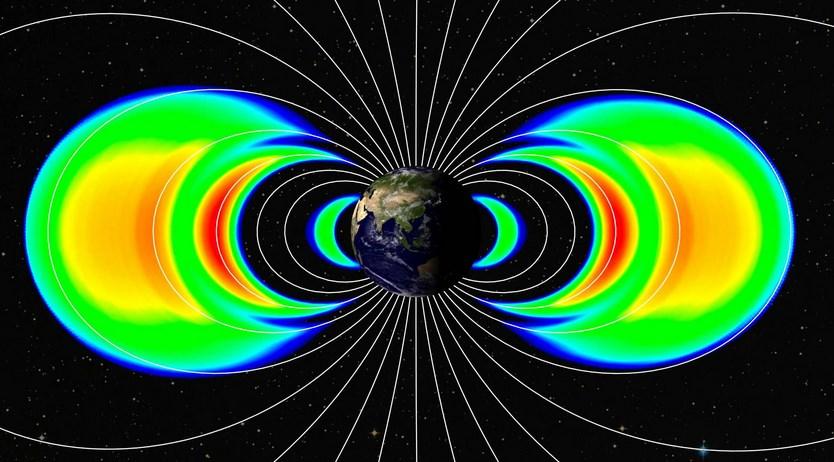 Bantahan Pertama: Radiasi sabuk Van Allen di bumi