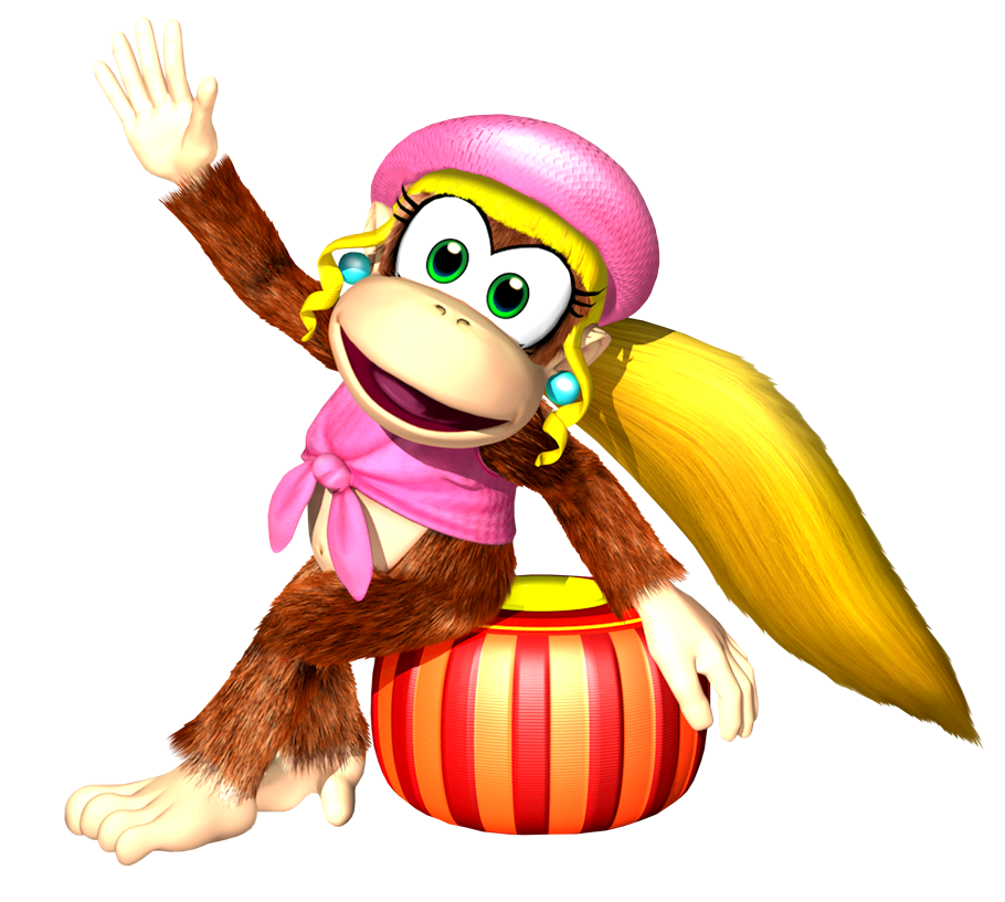 Cartoon Characters: Donkey Kong Country main characters