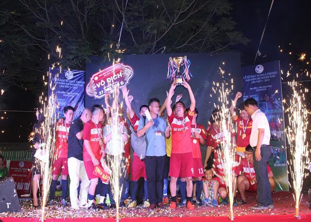 Vô địch giải bóng đá thép lần thứ 3