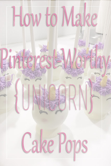 Unicorn Cake Pop Recipe DIY Birthday Party