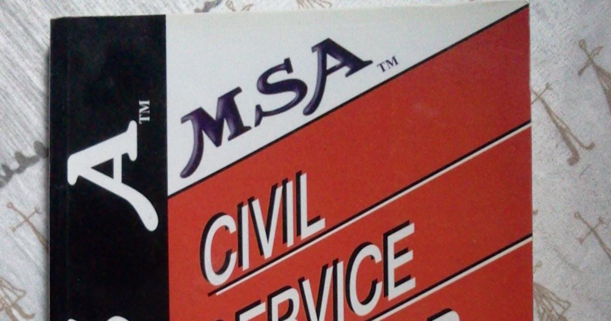 Career Civil Service Sub Professional Professional Book