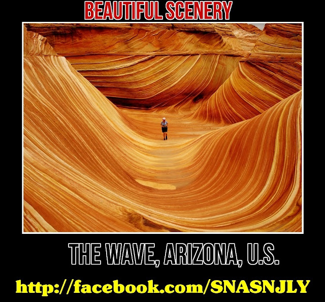 The Wave, Arizona, USA,Beautiful scenery