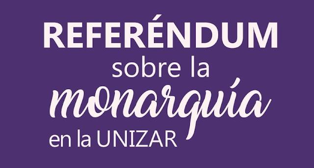 Resultados del referéndum en la Universidad de Zaragoza: gana la República