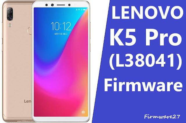 Firmware & Tool Lenovo K5 Pro (L38041)