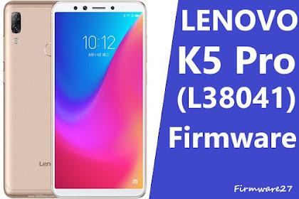 Firmware & Tool Lenovo K5 Pro (L38041) Qualcomm Sdm660