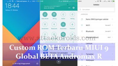 ROM MIUI 9 Global Beta For Andromax R