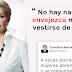 Carolina Herrera critica fuertemente a las mujeres maduras que visten como jóvenes