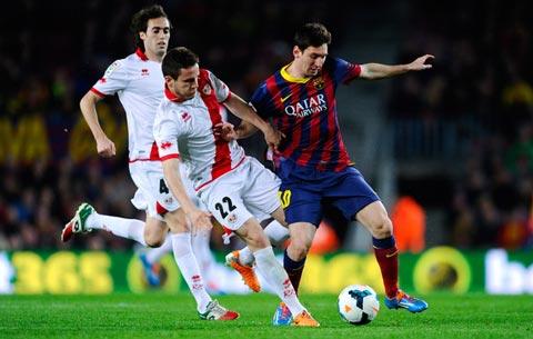 Saul đã có mùa giải tuyệt vời khi thi đấu cho Vallecano dưới dạng cho mượn