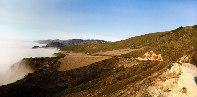 Epic views await for motorcycle touring US Route 1