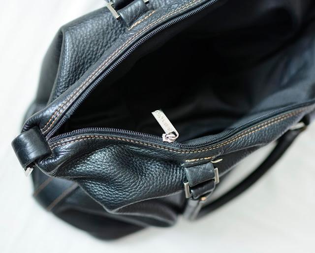 Wymiana kłopotliwego zamka w skórzanej torebce
