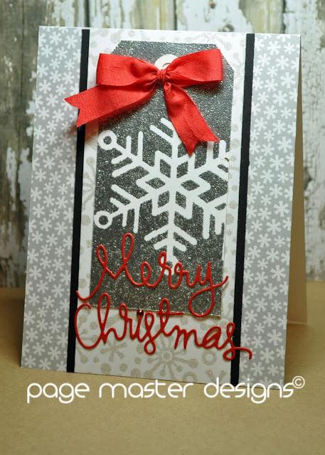 Page Master Designs Online Simon Says December Card Kit