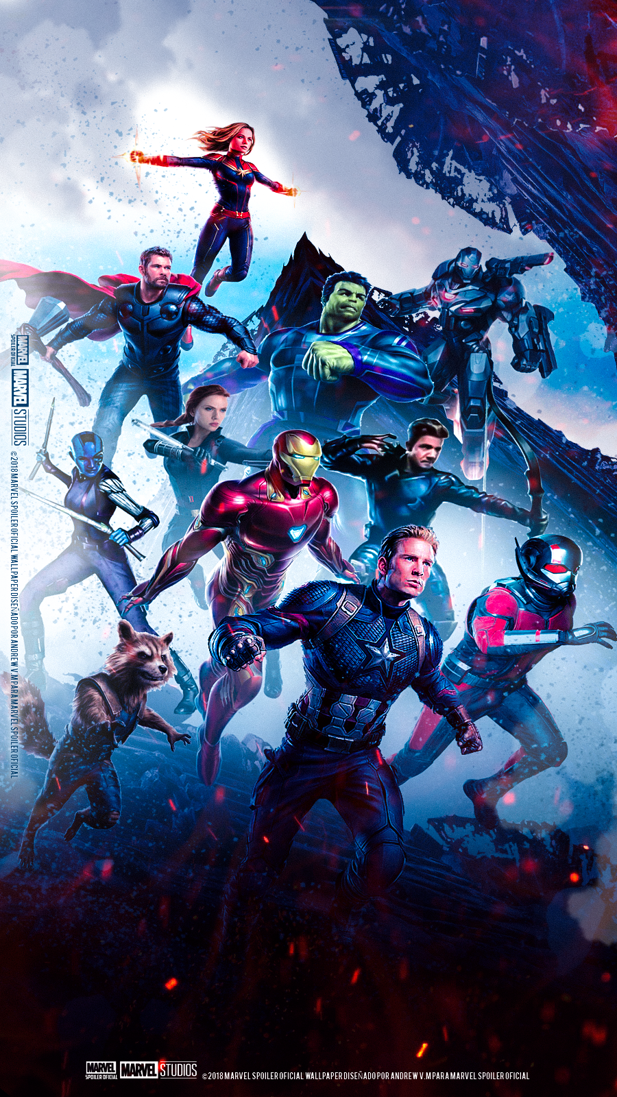 Avengers Endgame Hd Wallpapers Play Movies One