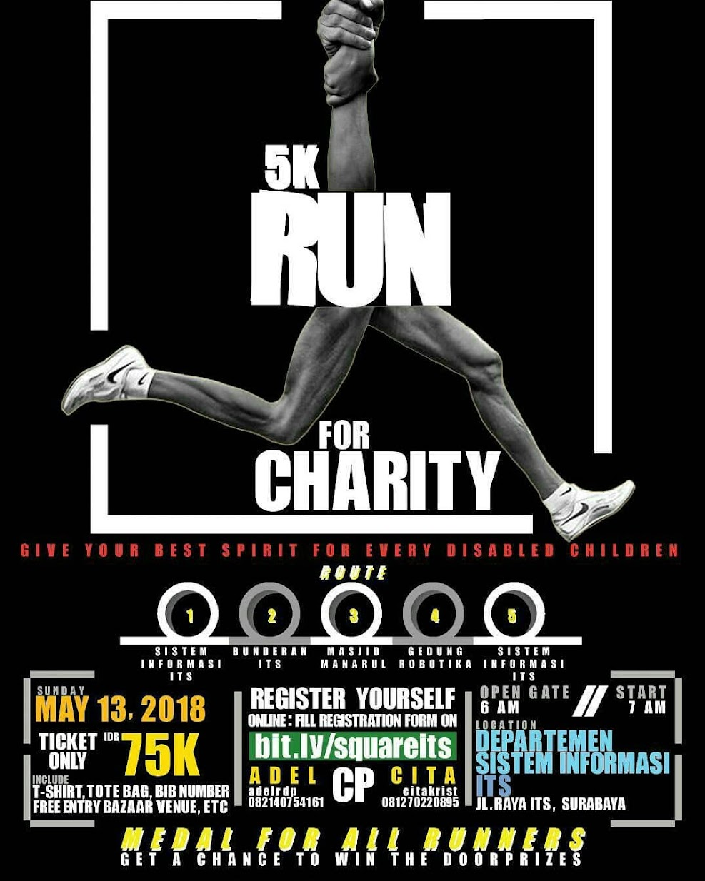 Square - Run for Charity • 2018