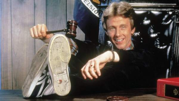Harry Anderson en su papel del juez Harry Stone en 'Juzgado de guardia'