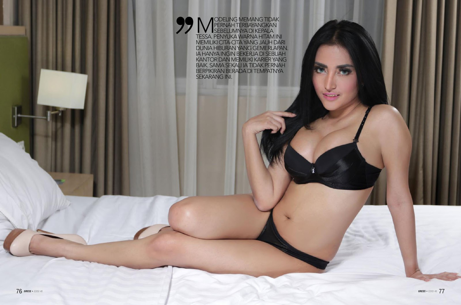 Tessa Ayu, GRESS Magazine January 2017 Part01
