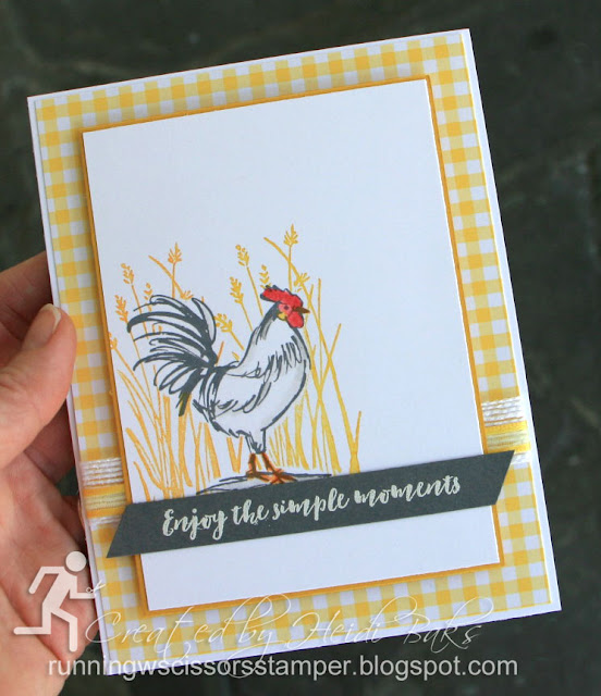 Stampin' Up Home to Roost