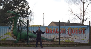 Dragon Quest Adventure Golf course at World of Golf Croydon