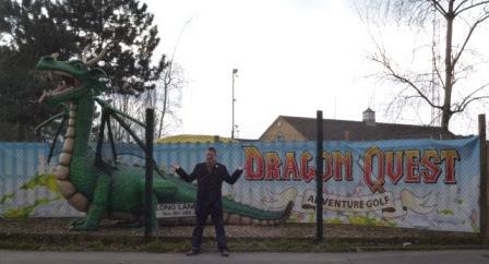 Dragon Quest Adventure Golf course at World of Golf Croydon