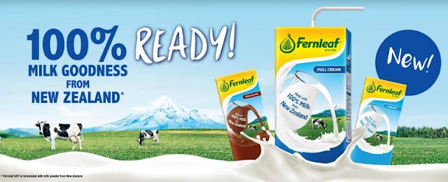 Susu Fernleaf 100% Susu Dari New Zealand