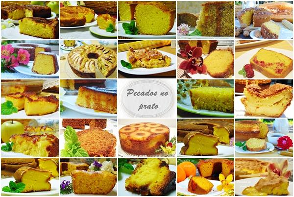 Receitas de bolos testados e aprovados