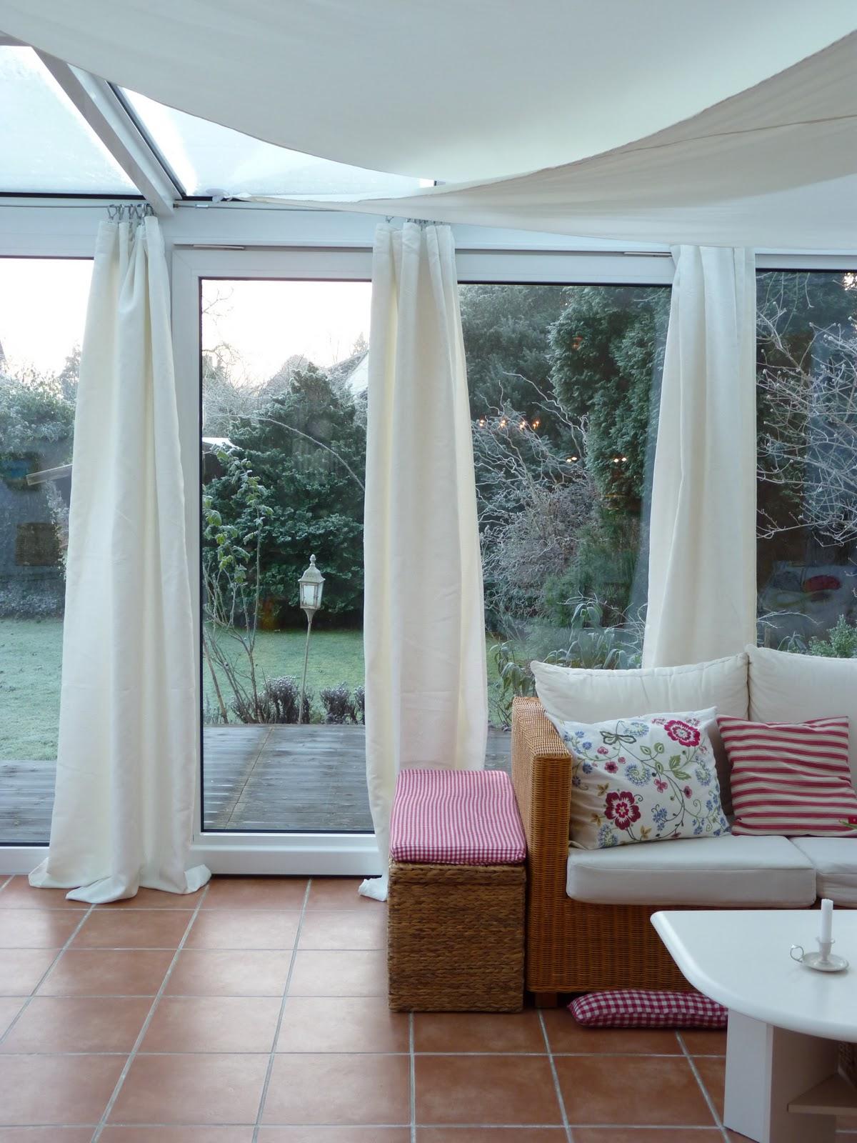 Wintergarten Gardinen Ideen | Die schönsten Einrichtungsideen