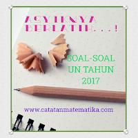 Download Soal UN SMA/SMK Tahun 2017