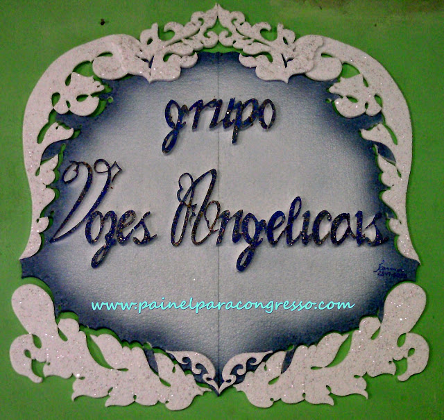 ORQUESTRA VOZES ANGELICAIS painel decorativo para orquestra