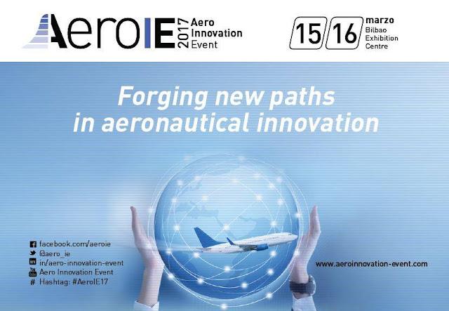 Cartel del congreso de innovación aérea